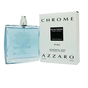 Azzaro Chrome For Men EDT 100ml (Tester)