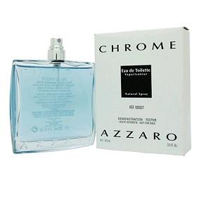 Azzaro Chrome For Men EDT 100ml (Tester)