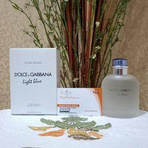 Dolce & Gabanna Light Blue For Men EDT 125ML (Tester)