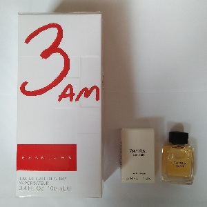 Sean John 3 AM for Men EDT 100ML + FREE Vera Wang for Men EDT 4ml (Miniature)