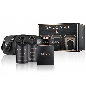 Bvlgari Man In Black for Men Giftset