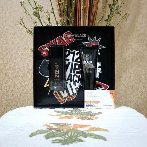 Carolina Herrera 212 VIP Black For Men (Giftset)