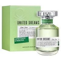 Benetton United Dream Live Free for Women EDT 80ml