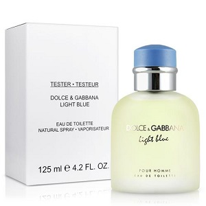 Dolce & Gabanna Light Blue For Men EDT 125ML Tester