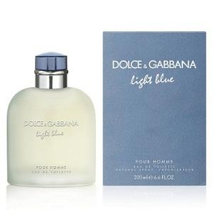 Dolce & Gabanna Light Blue For Men EDT 200ML