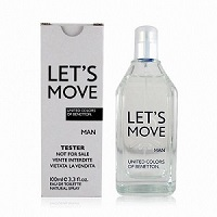 Benetton Lets Move Men EDT 100ml Tester