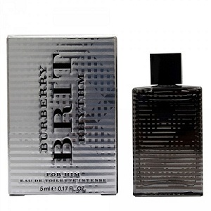Burberry Brit Rhythm for Men Intense EDT 5ml (Miniature)