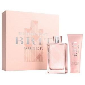 Burberry Brit Sheer For Women (Giftset)