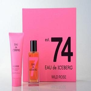 Ice Berg Eau de Iceberg 74 Wild Rose For Women (Giftset)