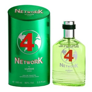 Lomani Network no.4 For Men EDT 100ML