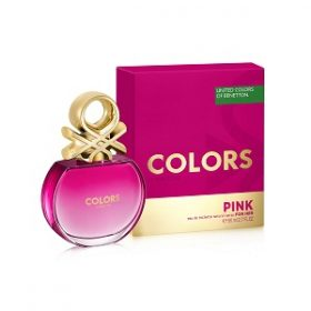 Benetton United Colors De Benetton Pink For Her EDT 80ML