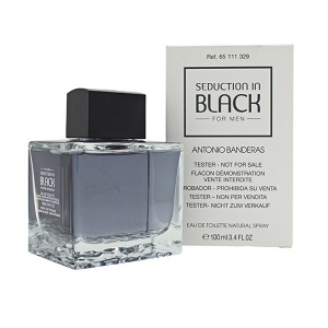 Antonio Banderas Seduction In Black For Men EDT 100ml (Tester)