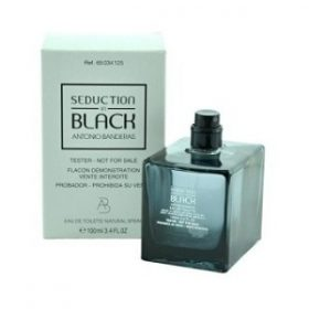Antonio Banderas Seduction In Black Men EDT 100ml (Tester)