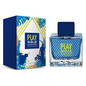Antonio Banderas Play In Blue Seduction For Men EDT 100ml
