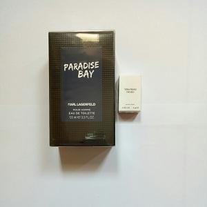 Karl Lagerfeld Paradise Bay For Men Edt 100ml + FREE Vera Wang for Men EDT 4ml (Miniature)