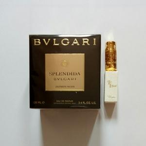 Bvlgari Splendida Jasmin Noir For Women EDP 100ML + Mini Lolita Elle L'aime EDP 5ML