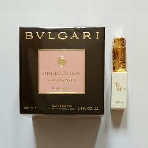 Bvlgari Splendida Rose Rose For Women EDP 100ML + Mini Lolita Elle L'aime EDP 5ML