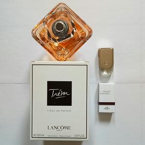 Lancome Tresor For Women EDP 100ml (Tester) + FREE Hermes Voyage D'hermes Unisex EDT 5ml (Miniature)