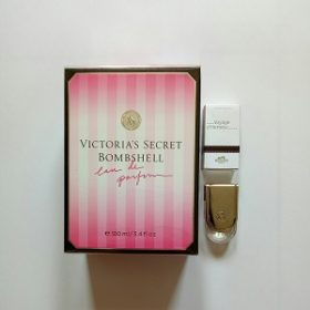 Victoria Secret Bombshell For Women EDP 100ML + FREE Hermes Voyage D'hermes Unisex EDT 5ml (Miniature)