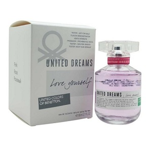 Benetton United Dream Love Yourself for Women EDT 80ml (Tester)