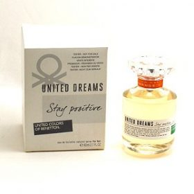 Benetton United Dream Stay Positive for Women EDT 80ml (Tester)