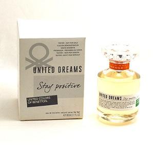 Benetton United Dream Stay Positive for Women EDT 80ml (Tester)