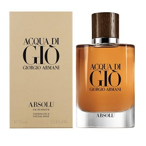 Giorgio Armani Acqua Di Gio Absolu For Men EDP 75ml
