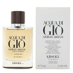 Giorgio Armani Acqua Di Gio Absolu For Men EDP 75ml (Tester)