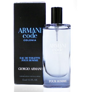 Giorgio Armani Code Colonia Pour Homme EDT 15ml (Miniatur)