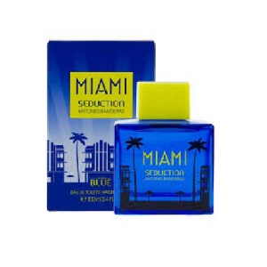 Antonio Banderas Miami Seduction Blue For Men EDT 100ml