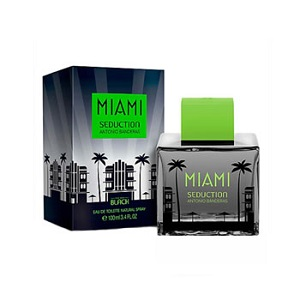 Antonio Banderas Miami Seduction In Black for Men EDT 100ml