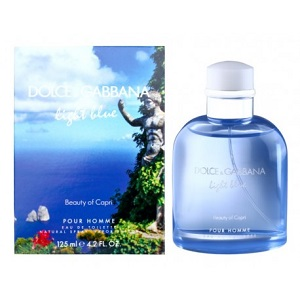 Dolce & Gabanna Light Blue Beauty of Capri for Men EDT 125ml