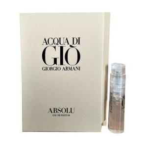 Giorgio Armani Acqua Di Gio Absolu for Men EDP 1,2ml (Vial)