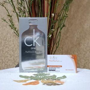 Calvin Klein CK One Platinum Edition For Unisex EDT 200ml