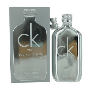 Calvin Klein CK One Platinum Edition For Unisex EDT 200ml