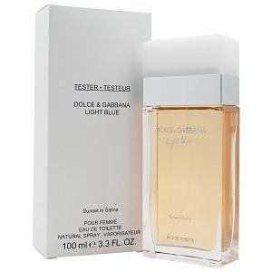 Dolce & Gabbana Light Blue Sunset In Salina For Women EDT 100ml (Tester)