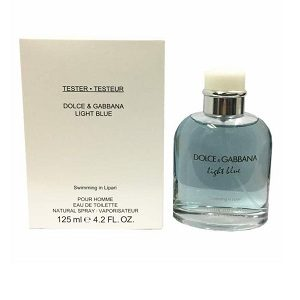 Dolce & Gabbana Light Blue Swimming In Lipari For Men EDT 125ml (Tester)