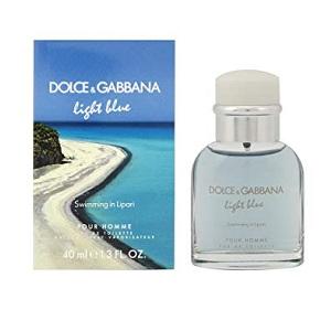 Dolce & Gabbana Light Blue Swimming In Lipari For Men EDT 40ml