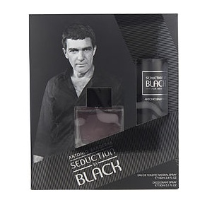 Antonio Banderas Seduction In Black For Men (Giftset)