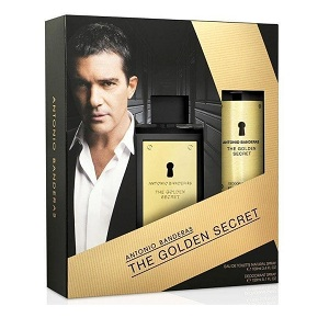 Antonio Banderas The Golden Secret For Men (Giftset)