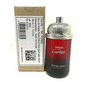 Cartier Pasha De Cartier Edition Noire Sport For Men EDT 100ml (Tester)