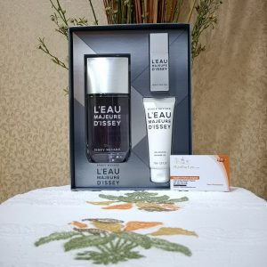Issey Miyake Leau D'Issey Majeure For Men (Giftset)