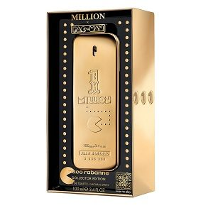 Paco Rabanne 1 Million X Pac-Man Collector Edition For Men EDT 100ml