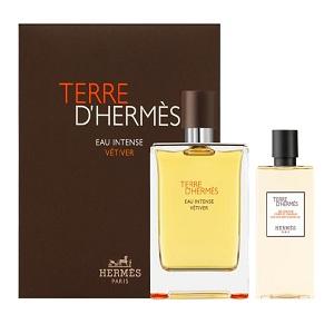 Hermes Terre D'Hermes Eau Intense Vetiver For Men (Giftset)