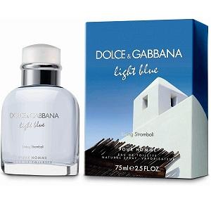 Dolce & Gabbana Light Blue Living Stromboli For Men EDT 75ml
