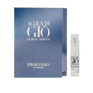 Giorgio Armani Acqua Di Gio Profondo For Men EDP 1,2ml (Vial)